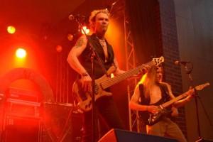Chuck Jones with Medieval Steel